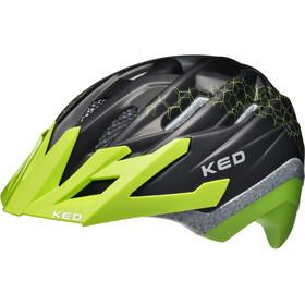 KED Dera II Helmet Kids Black Green
